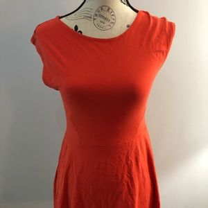 Topshop dress red size 8